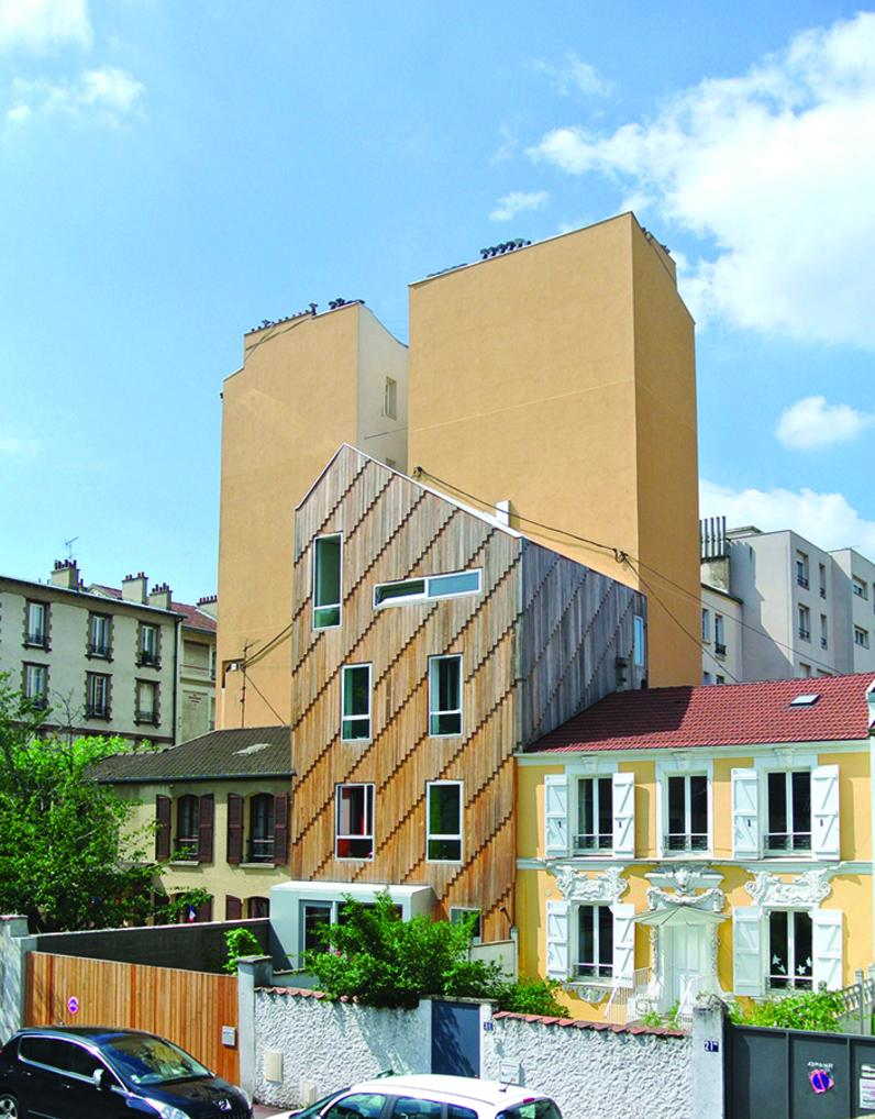 Restructuration, extension d'un pavillon, Malakoff (92), 2013