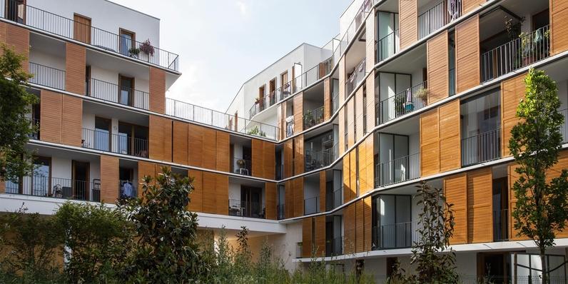 Opération de 80 logements et commerces à Bourg-la-Reine