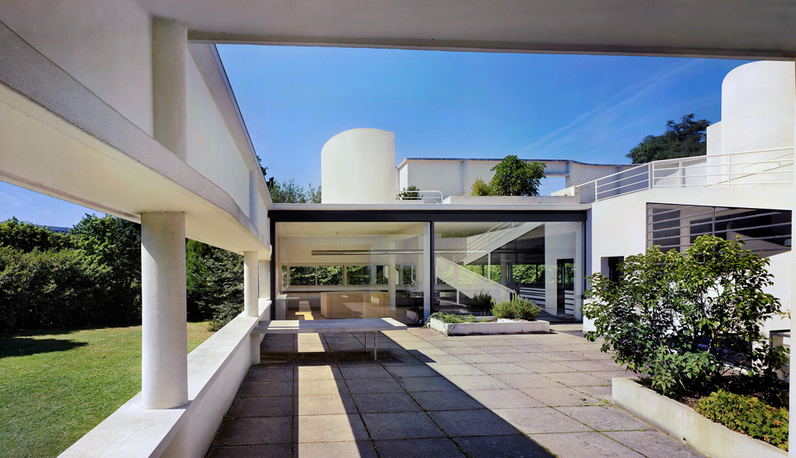 Villa Savoye, Le Corbusier, 1925