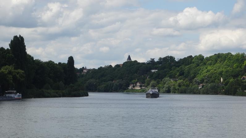 Les coteaux d'Herblay sur les bords de Seine