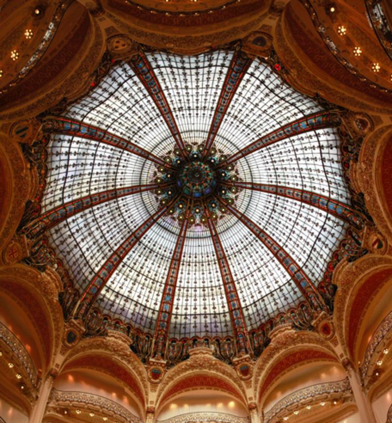 Coupole des Galeries Lafayette, Paris, IXe arrondissment