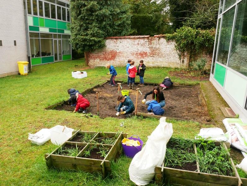 Jardin pédagogique - Ecole Stadmus