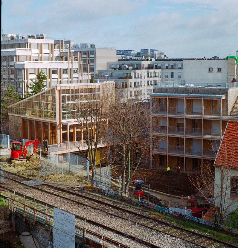 Ferme du Rail, Paris