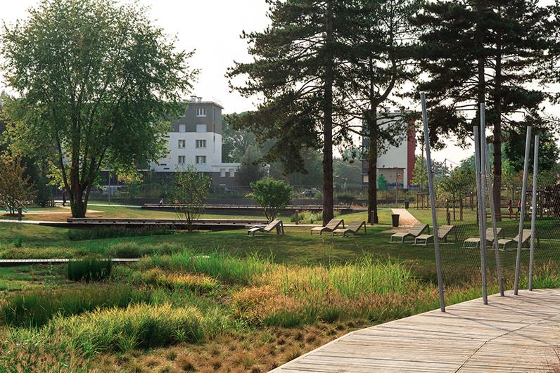 Parc du bord de l'eau, Villeneuve-le-Roi