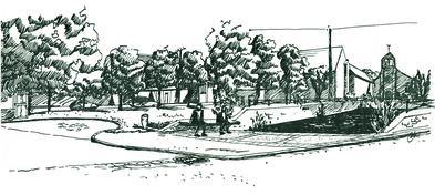 Place de la mare, commune de Congerville-Thionville (91)