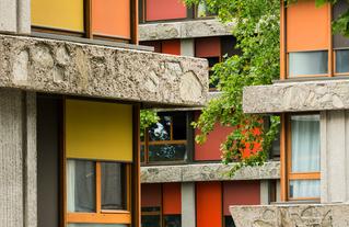 Réhabilitation du quartier des Bleuets à Créteil, de Paul Bossard à RVA