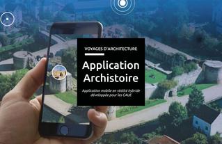 Découvrez l'application mobile Archistoire développée pour les CAUE